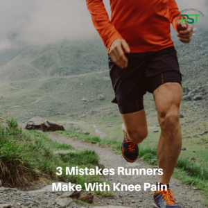3 mistakes runners make with knee pain