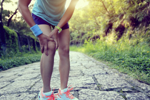 Knee pain and warming up for a run