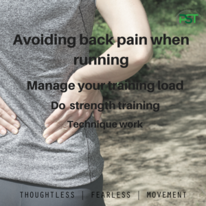 I get back pain when running – why?